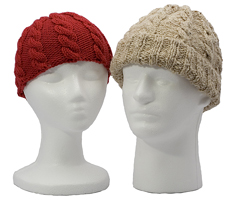 adult cabled hat knitting pattern