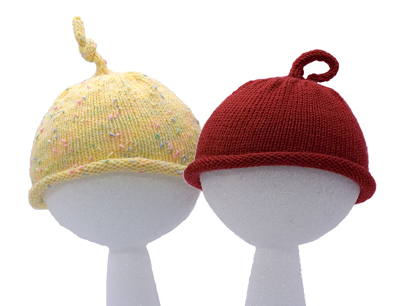 Easy Knitting Pattern for Baby Hat - Instant Download ...