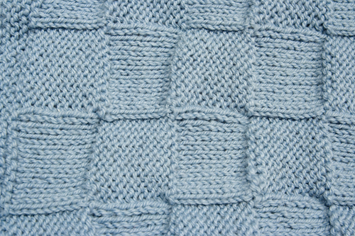 Easy knitting pattern for baby blanket instant download es10 blue baby blanket detailmg2223 dt1010fo