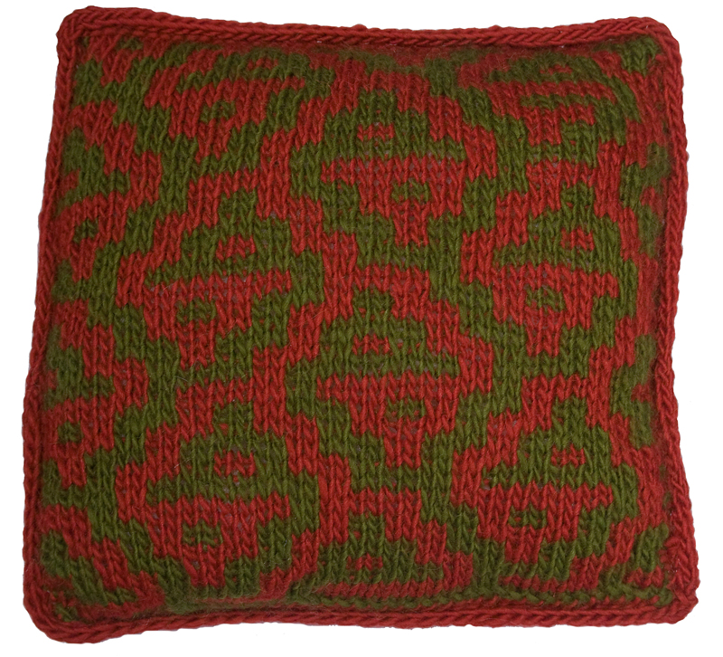 Mosaic Pillow Knitting Pattern