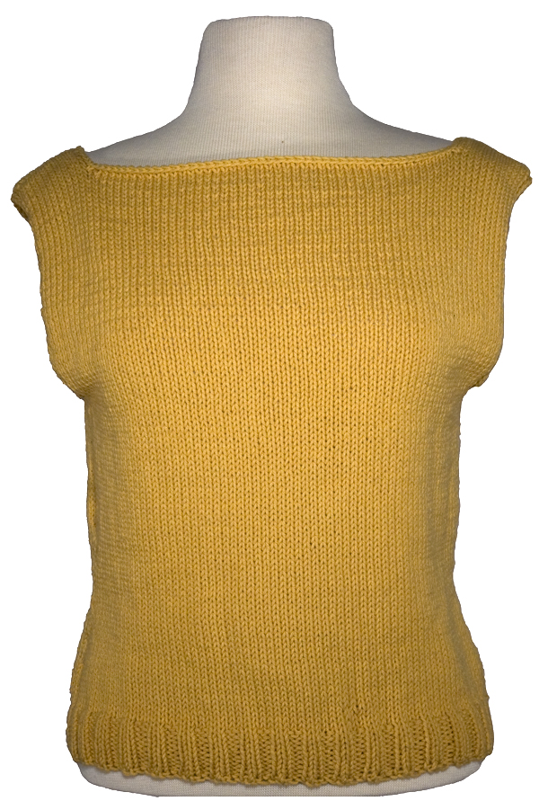 Momogus Knits Boatneck Shell Knitting Pattern