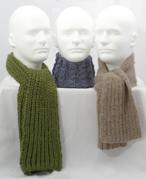 Knitting Pattern for Men\'s Scarf - Instant Download | Momogus Knits