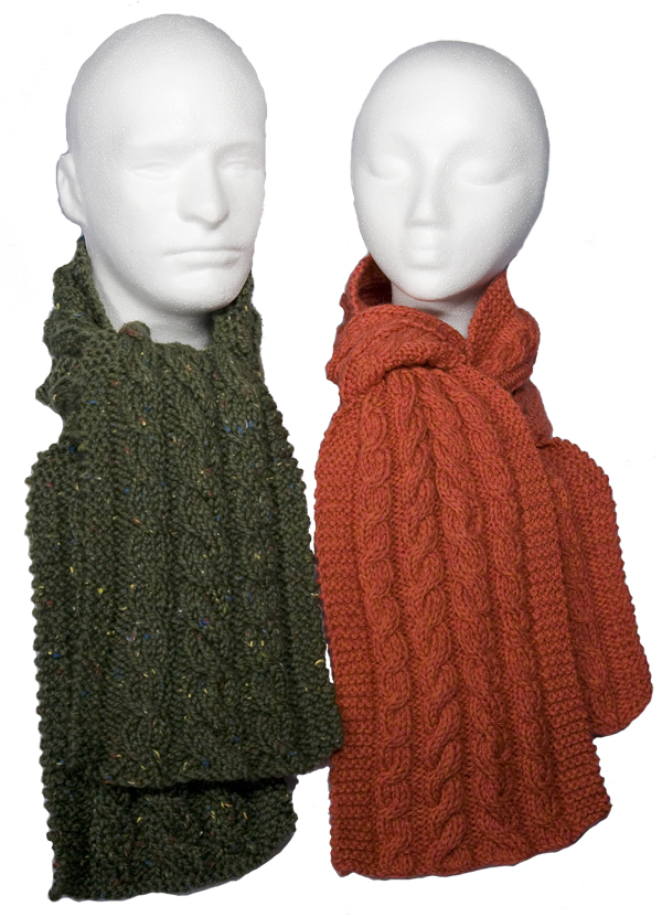 Easy Knitting Pattern For Cabled Scarves Pdf Download Momogus Knits