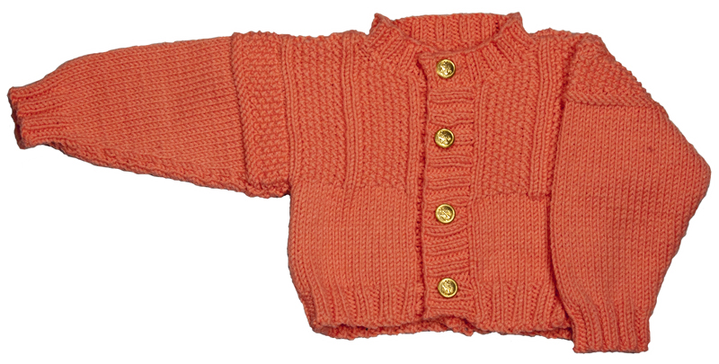 Knitting Pattern For Baby Gansey Cardigan Sweater Pdf Download