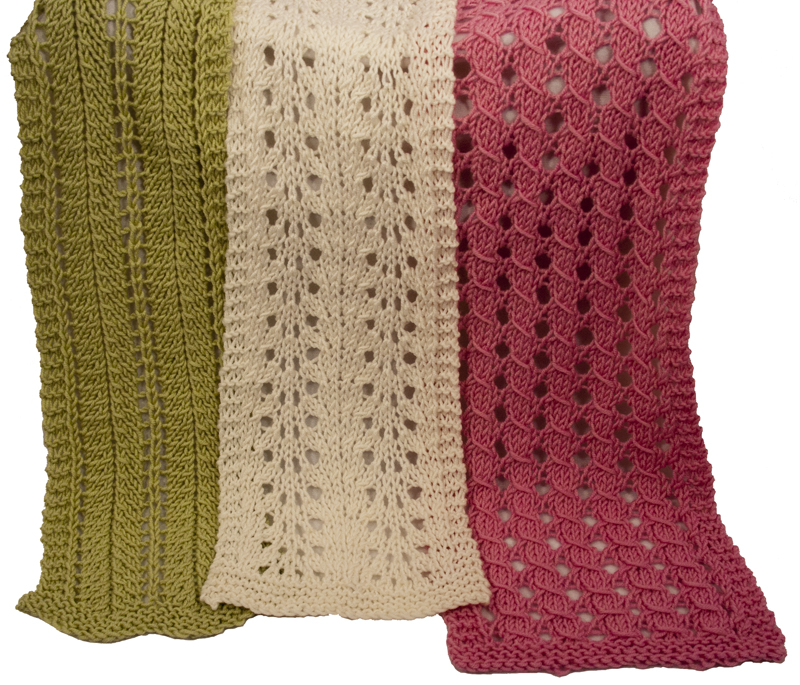 Momogus Knits Easy Lace Scarves Knitting Pattern